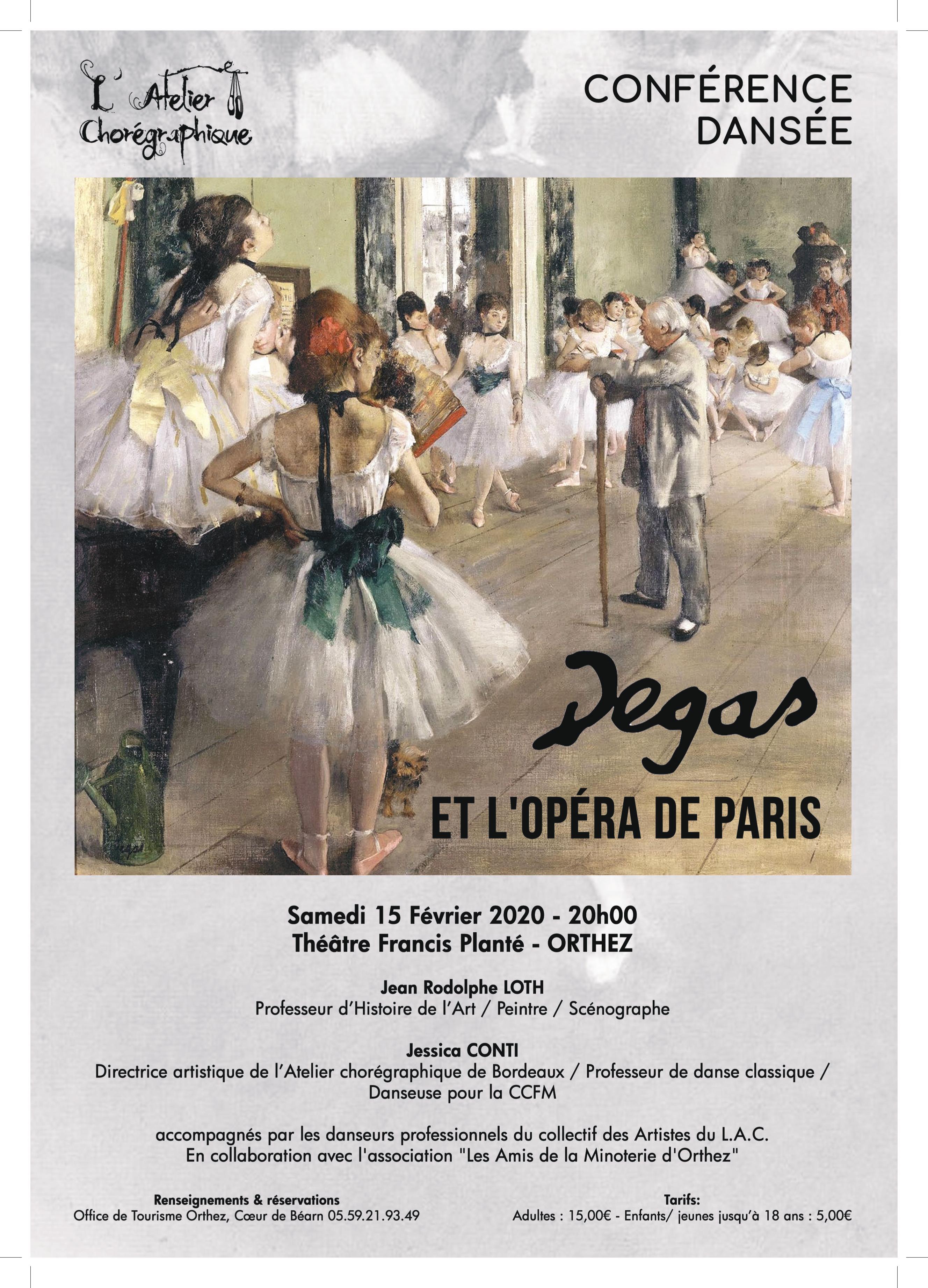 DEGAS ET L'OPÉRA DE PARIS / Conférence dansée